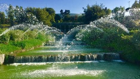 В Рим откриха Градина на водопадите въпреки водната криза (Снимки, видео)
