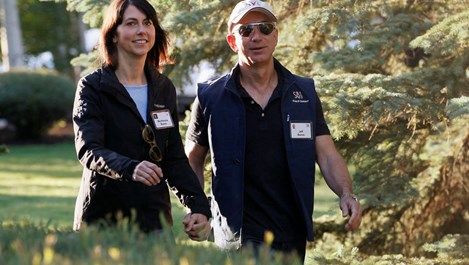 Любовта на Безос и жена му започна като  служебен роман и свърши с развод за 35 милиарда долара