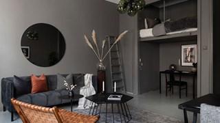 Микрокухня и спалня под тавана (галерия)
