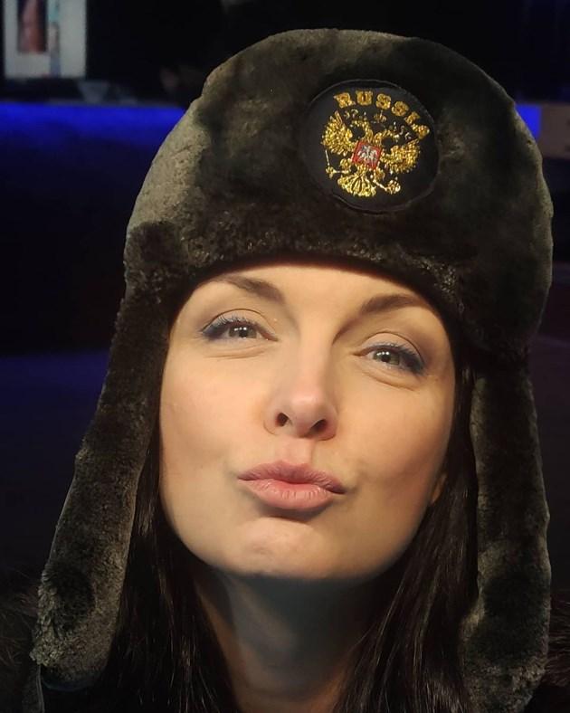 Жени Калканджиева готова за Путин