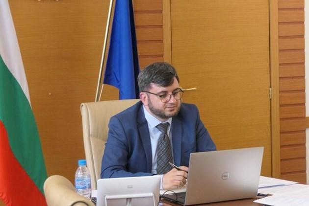 Заместник-министърът на земеделието, храните и горите Георги Събев Снимка: МЗХГ