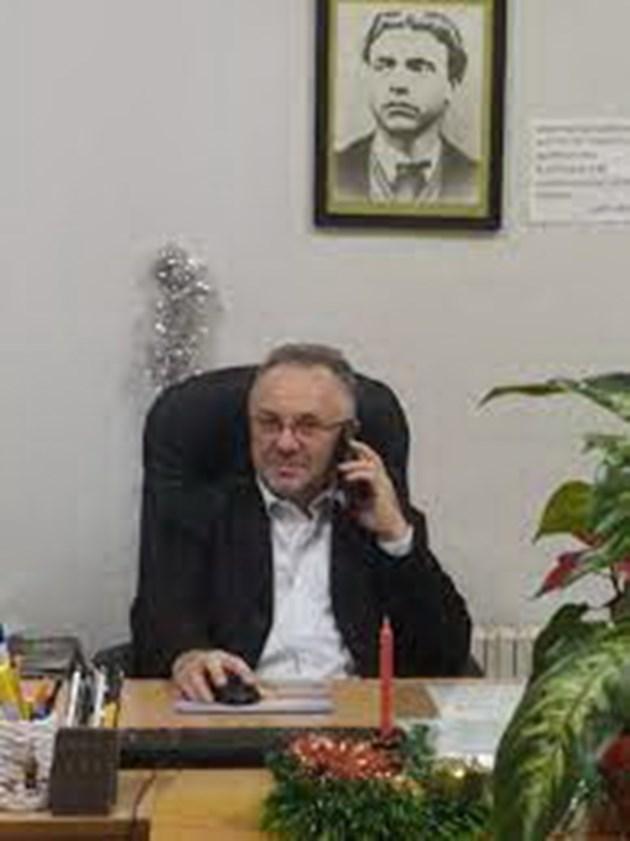 Директорът Пламен Славов е доволен от постигнатото , въпреки трудните години на пандемия. Снимки Авторът