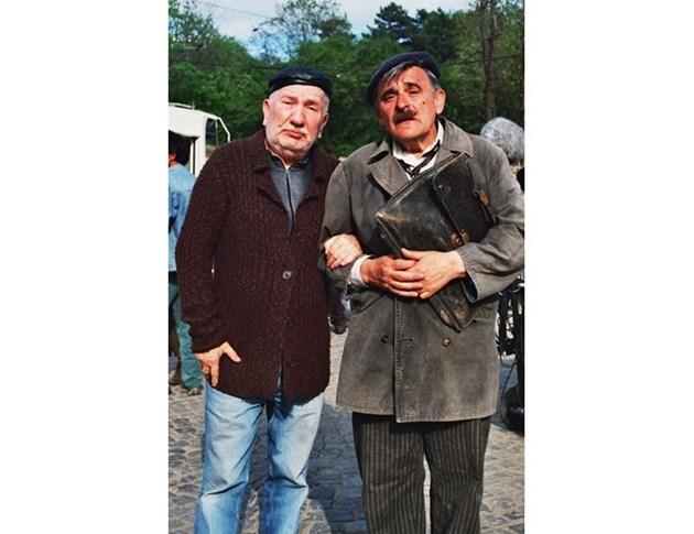 Със своя приятел Джеки Стоев