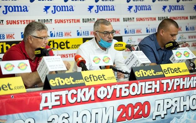 Теди Джорджо: Отлагаме детския турнир в Дряново