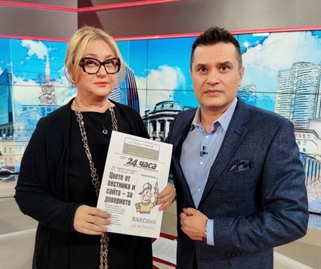 """Венелина Гочева: 30-те г. на """"24 часа"""" показват, че политиците трябва да четат, а хората да помнят"""