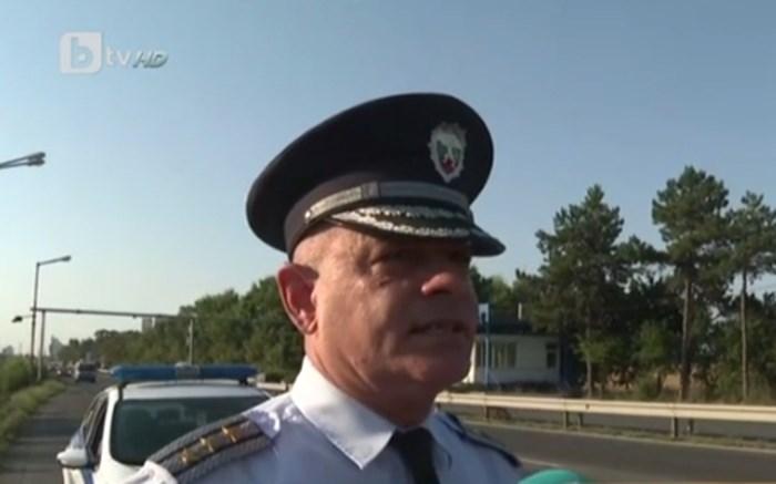 """Началникът на """"Охранителна полиция"""" в Бургас комисар Неделчо Рачев Кадър: Би Ти Ви"""