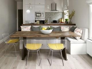 Идеи за жълт детайл в кухнята (галерия)
