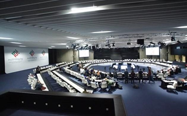 НДК: Фалшивият сигнал за бомба не попречи на събитията от председателството