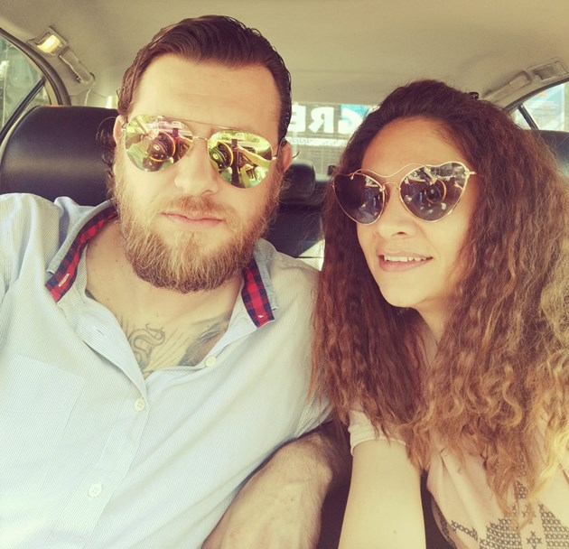 Мариана и мъжът й са навсякъде заедно