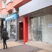 Все повече празни магазини по търговски улици и молове