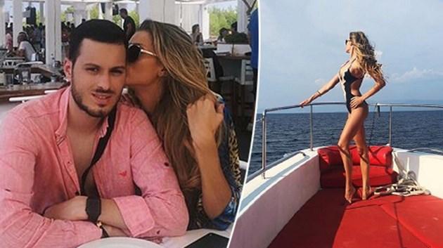 Мис България ПЪЧИ тяло на яхта