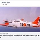 Испански военен самолет се разби в морето близо до Мурсия, 2-ма загинаха