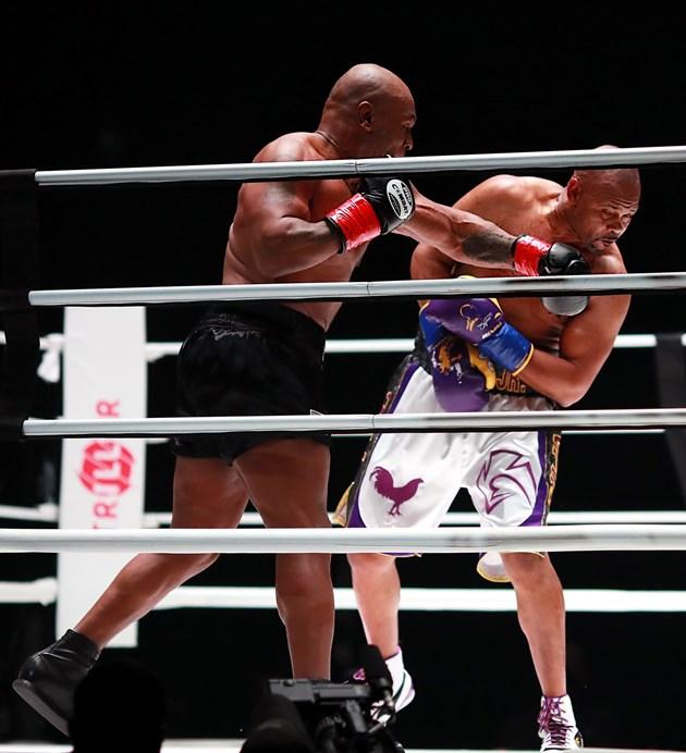 Майк Тайсън с равенство при завръщането на ринга и $ 10 млн. в джоба