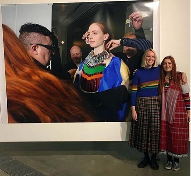 Българка прави мода от рециклирани носии