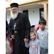 Отец Иван с приют в Гърция