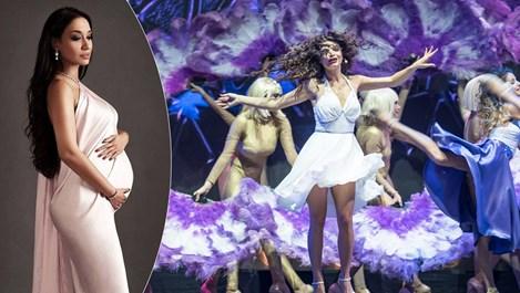 Бременната Мария Илиева пее и танцува два часа