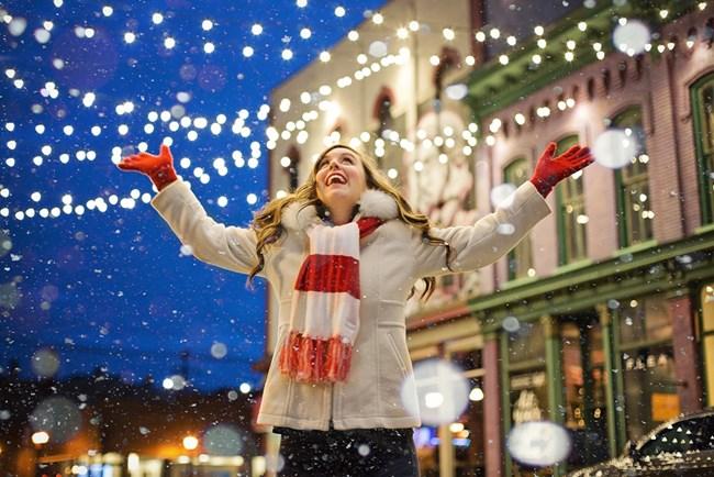 Ако ще празнувате на открито, изберете топли и дебели дрехи и обувки.