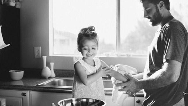 Да бъдеш баща на малко момиченце е любов доживот...