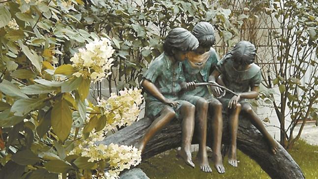 Седем правила за скулптура в градината