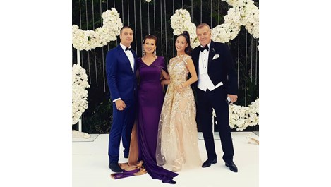 Виолета Сиракова вдигна магична сватба