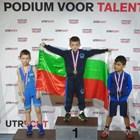 Българче мачка на силен турнир по борба в Холандия