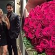 Благой Георгиев изненада Златка Райкова с вечеря и рози за Свети Валентин (Снимки)
