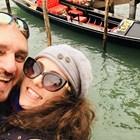 Коцето суперзвезда с Мартина във Венеция