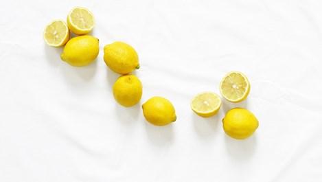 Необичайни употреби на лимона в домакинството