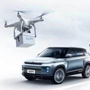 Заради коронавируса в Китай доставят колите на адрес, а ключовете с дрон