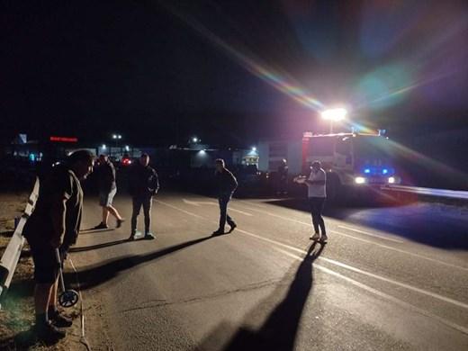 Айтос се вдига срещу тирове-убийци, блокира опасна улица