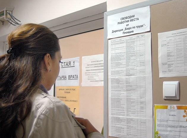5691 новорегистрирани безработни в първата седмица на юни