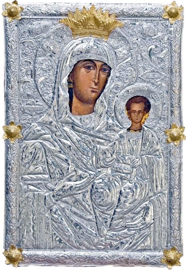 Чудотворната икона на Богородица
