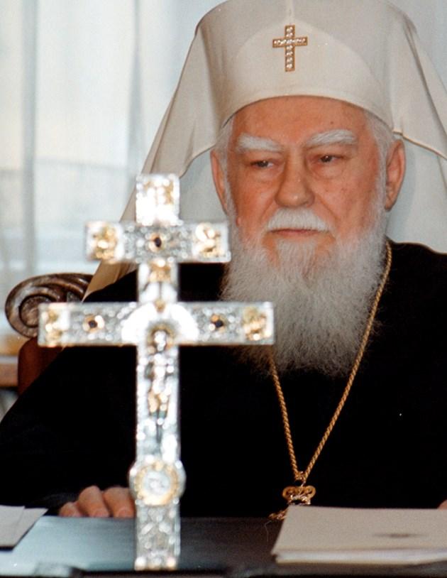 Скандал с паметника на патриарх Максим