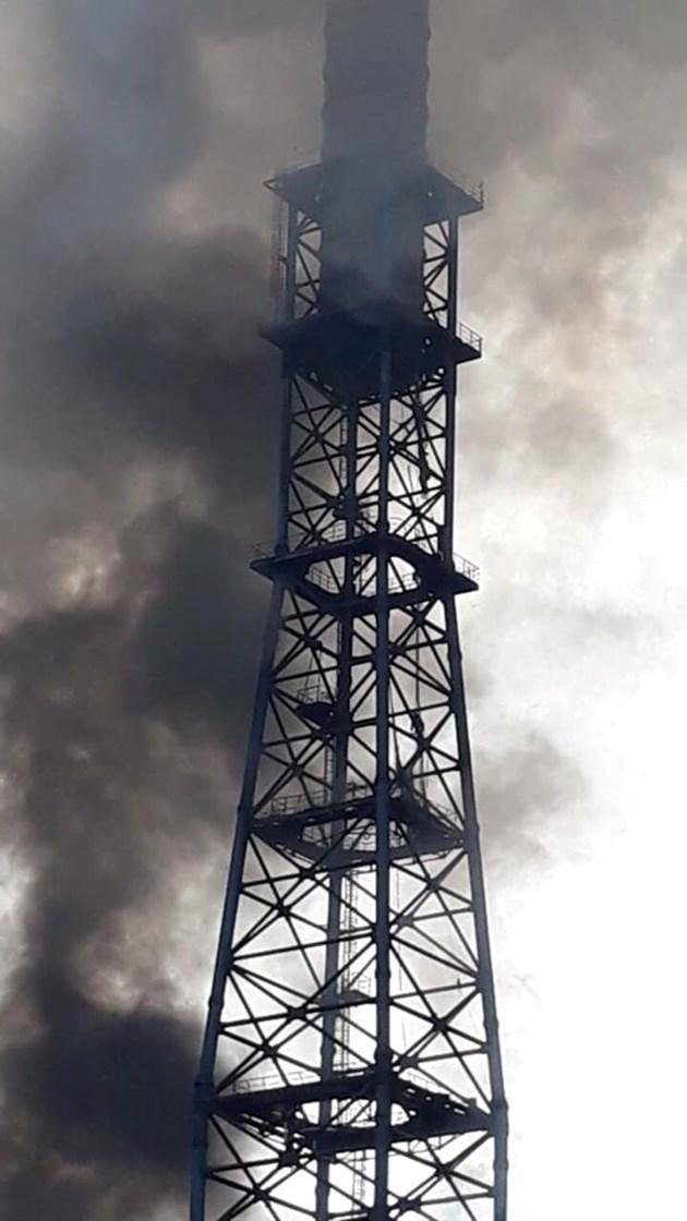 """Пожар в ТЕЦ """"Марица Изток 2"""""""