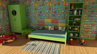 Интериор в стаята на ученика