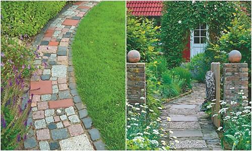 12 градински пътеки за различни ландшафтни стилове