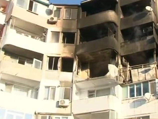 Не е ясно кога жителите на опожарения вход ще могат да се приберат по домовете си