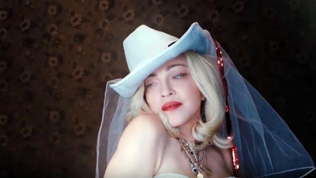 Мадона пусна видео за новия си албум (Видео)