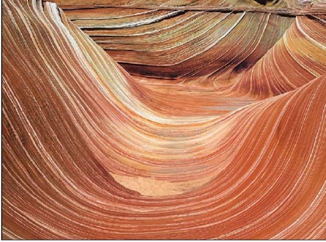 Вълната е цветно скално образувание по Хълмовете на койота в северната част на щата Аризона на границата с Юта в САЩ. Червените скали с вълнообразни форми са се образували от пясъчни дюни преди 190 млн. години. Може да се разгледа само след близо 5-километров поход.