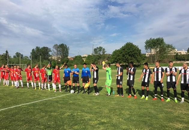 Помощник на Балъков вкара гол в Трета лига