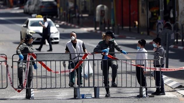 Oтцепиха ултрарелигиозен град в Израел, силно засегнат от COVID-19 (Снимки)