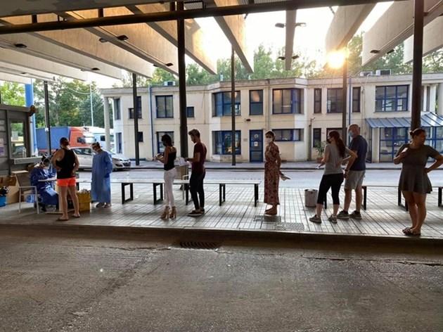 36 туристи с COVID-19 минали през Кулата към Гърция, 20 от тях са сърби