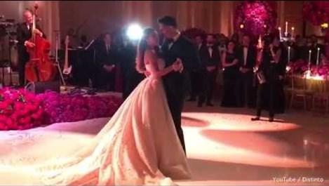 Вижте първия сватбен танц на София Вергара и Джо Манганиело