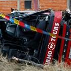 Увеличи се броят на загиналите след автобусната катастрофа в Македония (Снимки)