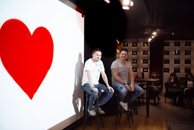 Асен Блатечки и Александър Сано, снимка Илиян Ружин