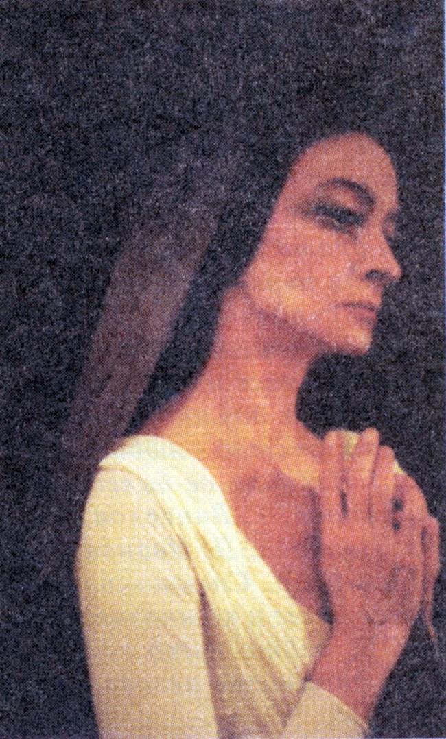 Красимира Колдамова през 90-те години. Тогава тя работи много с балета на Русенската опера и по-специално с хореографа Мехмед Хикметов.