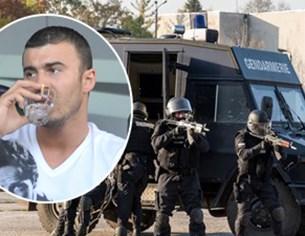 20 ченгета тръшват сина на алкохолния бос Миню