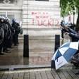 Вижте как мина протестът срещу расизма в Лондон (Снимки и видео)