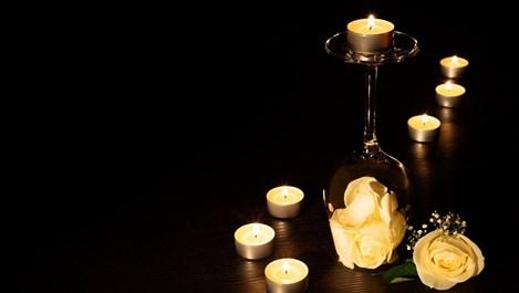 Чаени свещи в интериора (галерия)