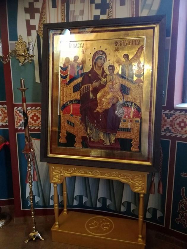 Чудотворна икона цери в София